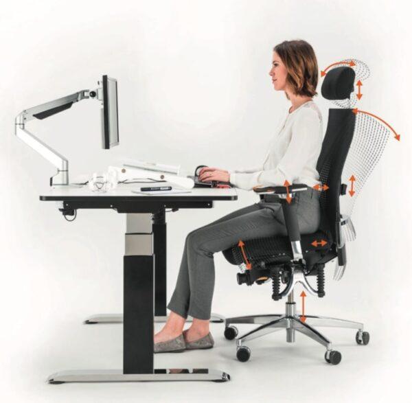 Bioswing bureaustoel