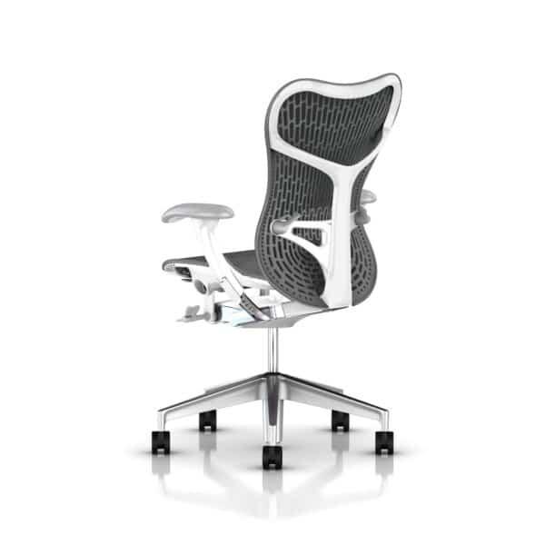 slate grey herman miller mirra bureaustoel