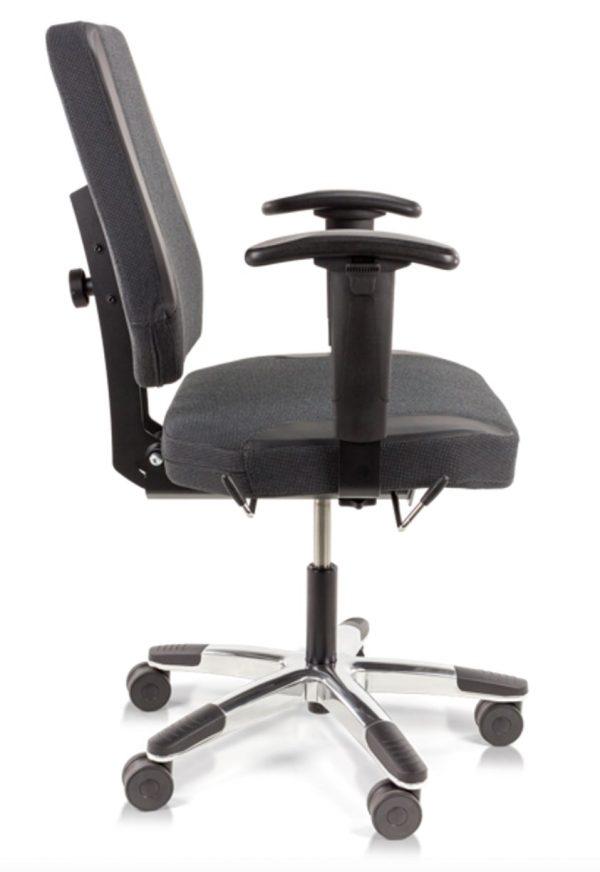 bureaustoel zwaarlijvige mensen