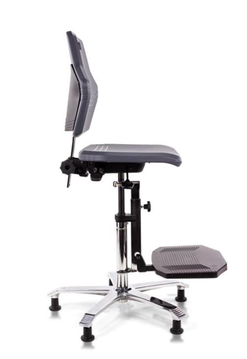 Werkstoel hoge tafel