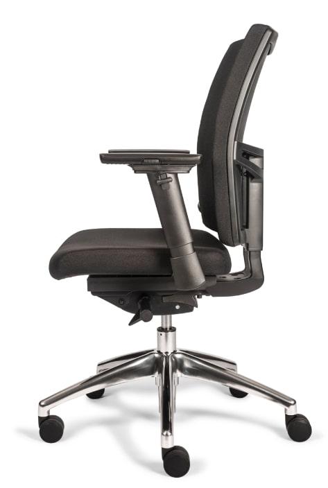 Bureaustoel kantoor NEN 1335