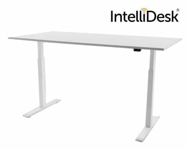 IntelliDesk zit-sta bureau wit