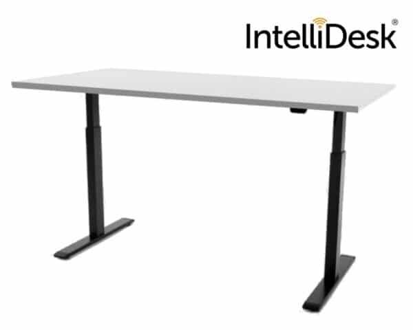 IntelliDesk zit-sta bureau zwart